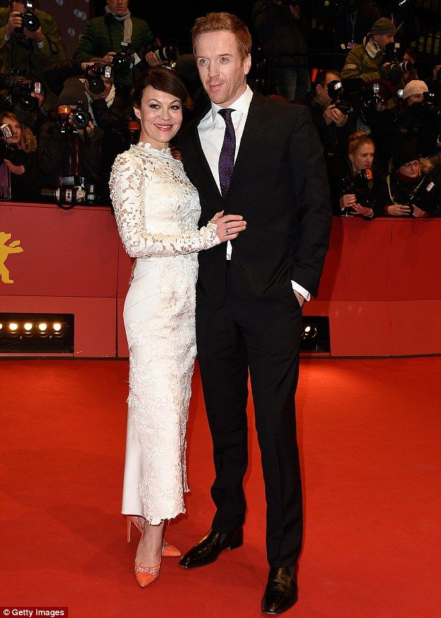 Damian Lewis And Wife Shine At Berlin Premiere Of Queen Of The