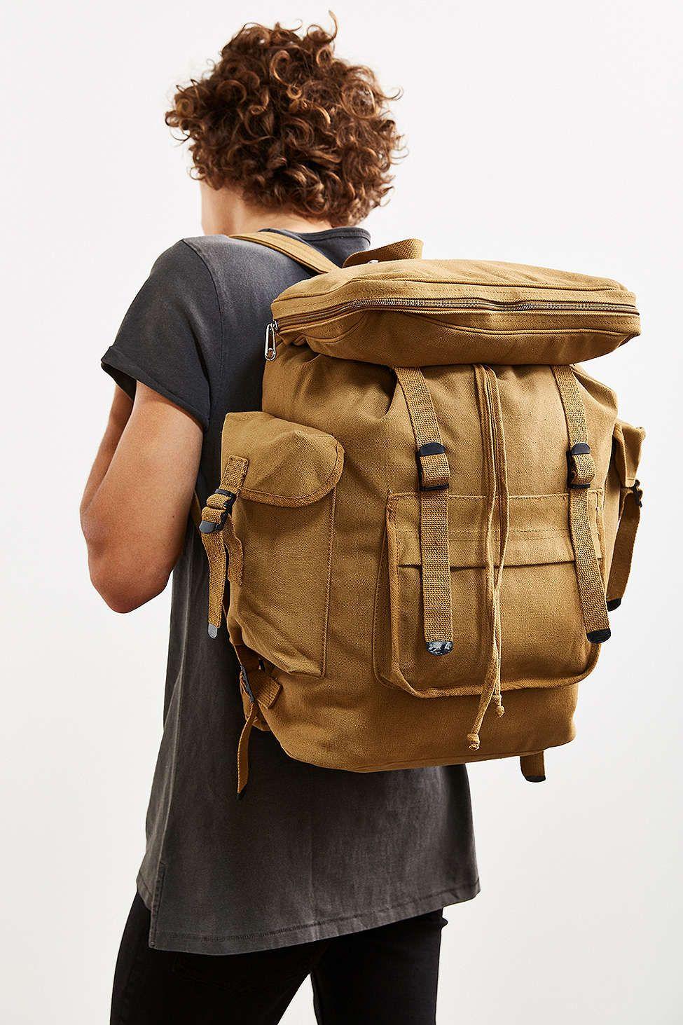 9db3ae6552a Rothco Basic Rucksack Backpack   Travel   Pinterest   Backpacks ...