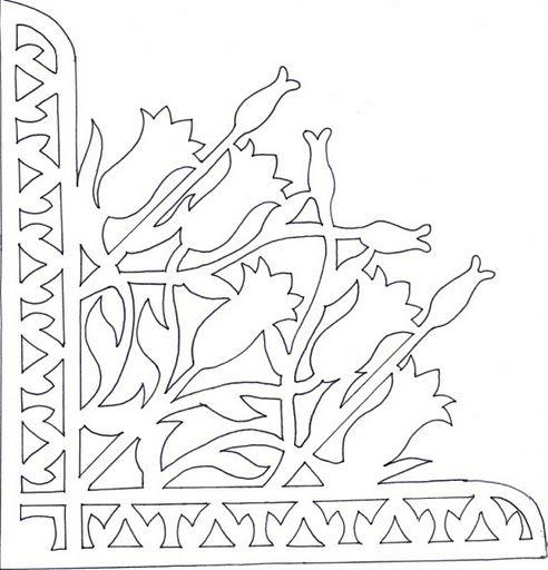 free paper cutting patterns online