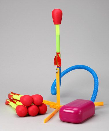 Take a look at this Ultra Stomp Rocket Kit & Rocket Refills by Stomp Rocket on #zulily today!