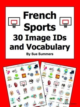 French sports 30 vocabulary image ids worksheet vocabulary games french sports 30 vocabulary image ids worksheet voltagebd Gallery
