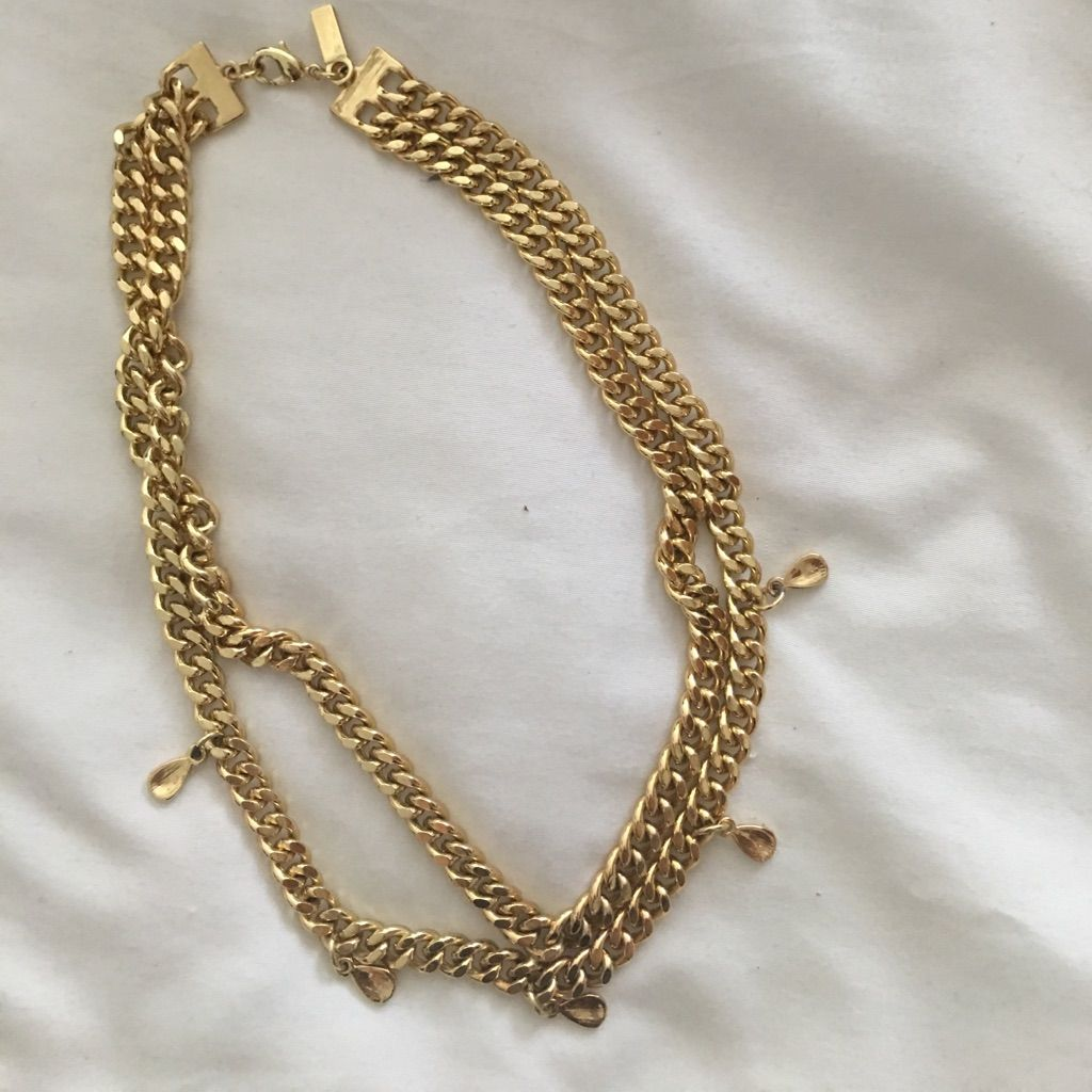 Vanessa Mooney Chain Gold: Chocker
