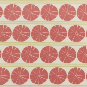 Red Segment Green Oilcloth Tablecloth | Contemporary Oilcloth Fabric