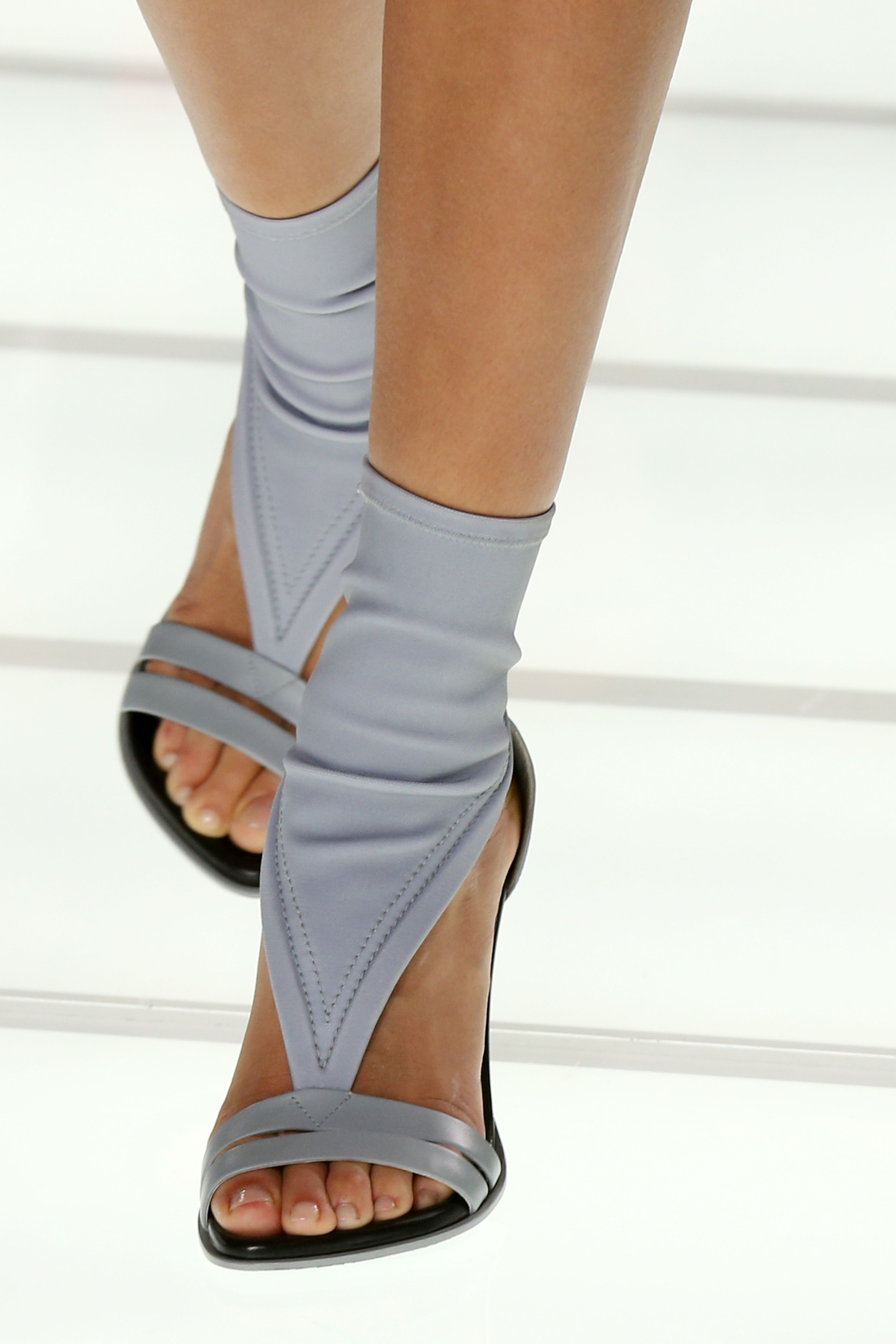 0be4655e7ad6 Shoes from the Louis Vuitton Spring-Summer 2018 Show by Nicolas Ghesquiere.  Watch the show now at louisvuitton.com.