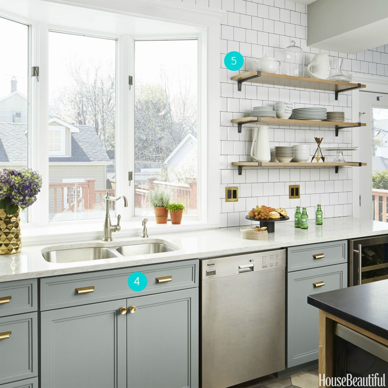 A Chicago Kitchen in a Muted Palette | Häuschen