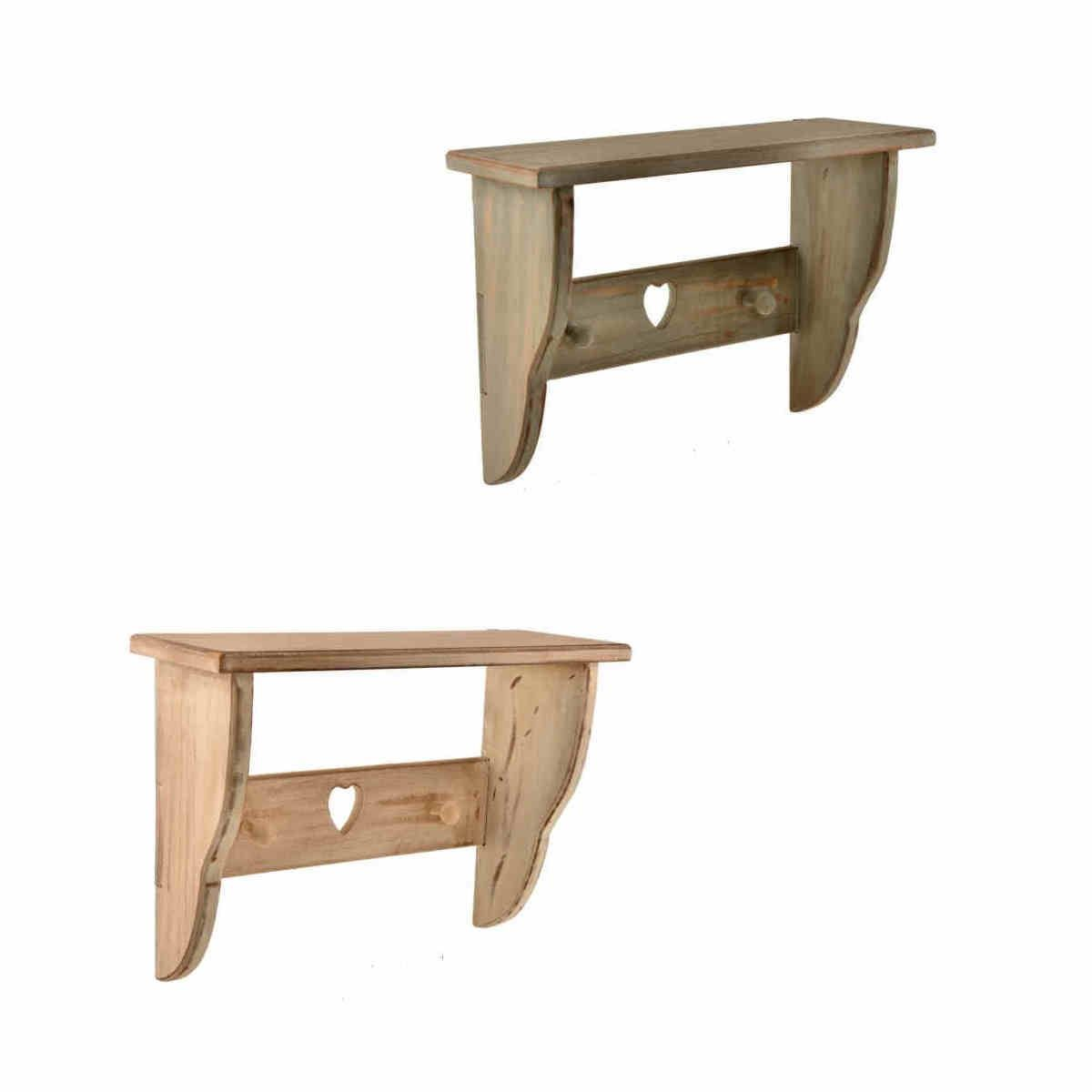 wood wall shelving units