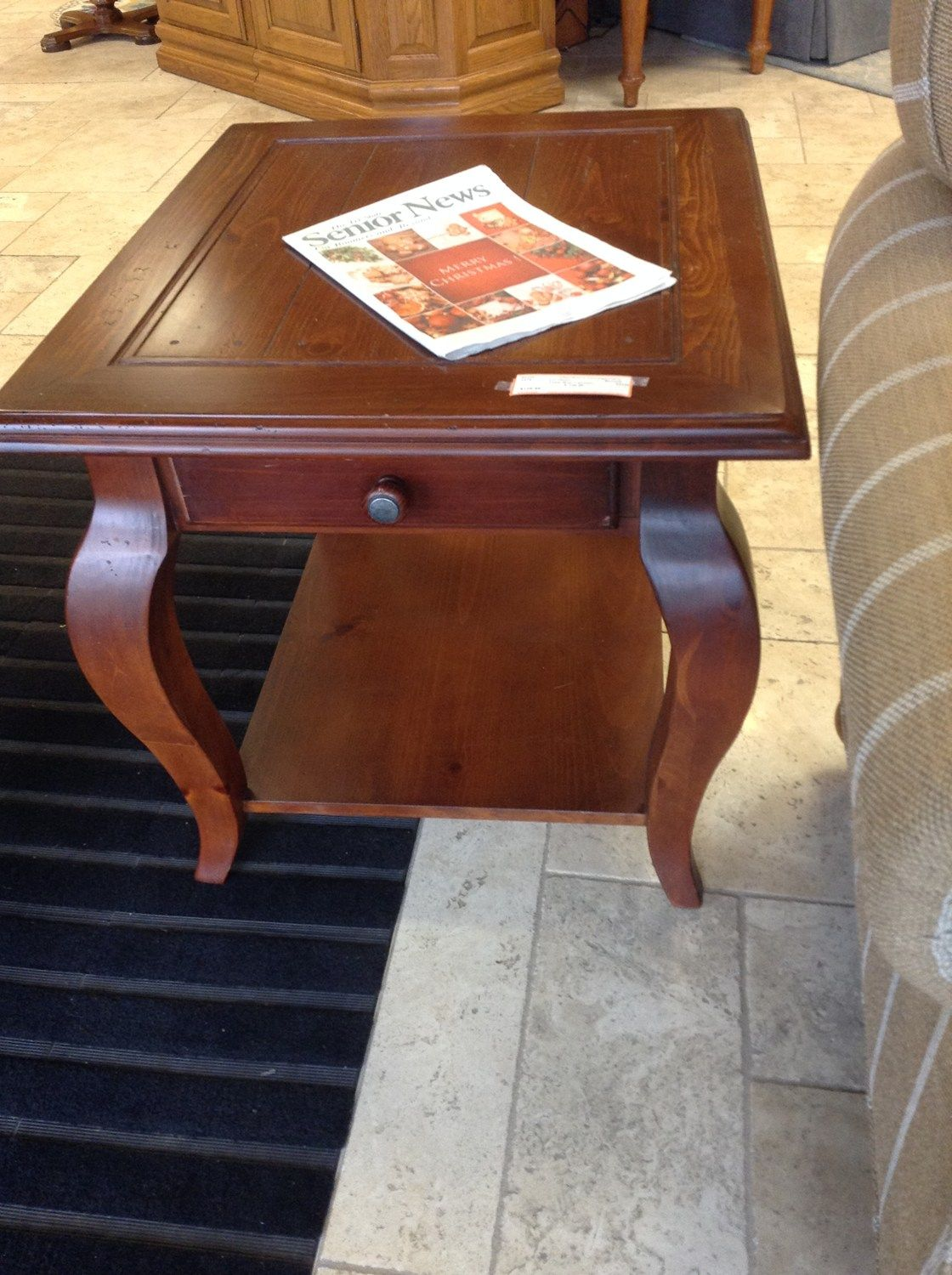 End table 2 available bassett pine end table with 1