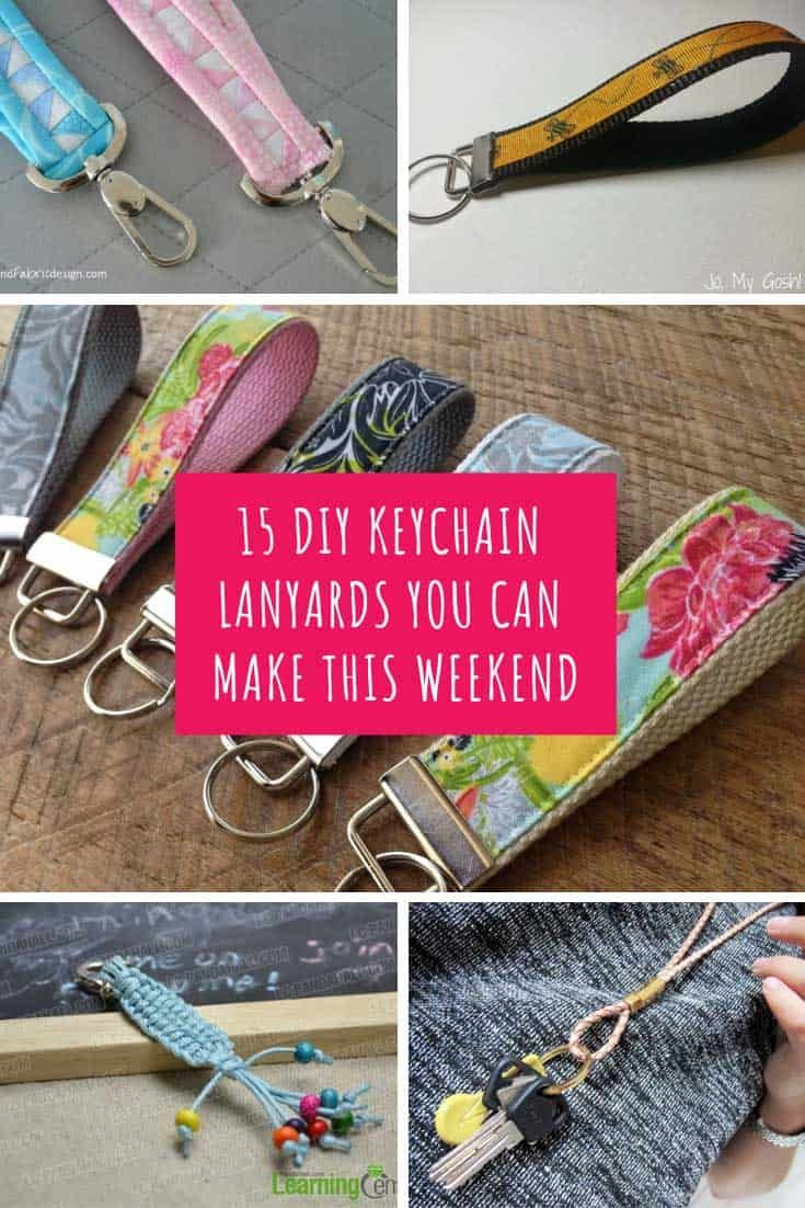 how to make a lanyard with ribbon