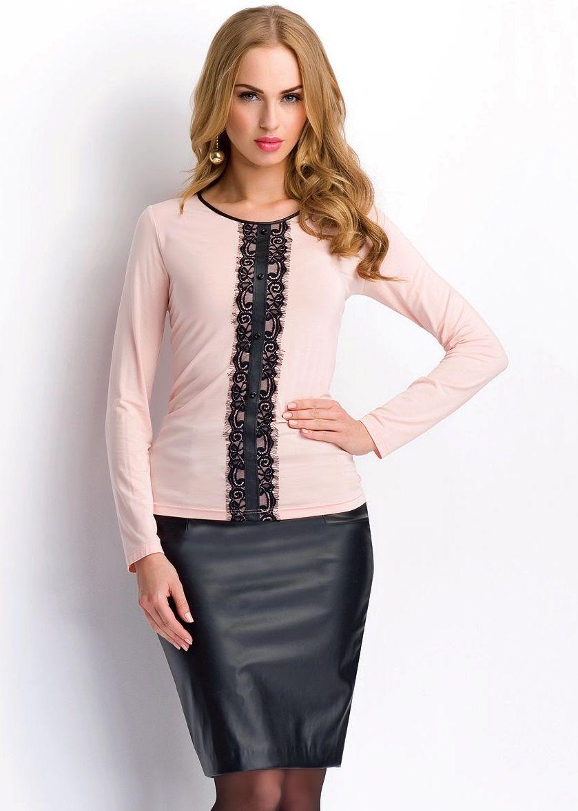 7a62287f6e7 Трикотажные блузки (72 фото)  с чем носить