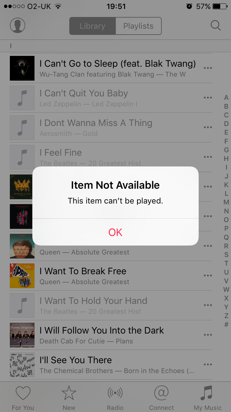 [Solved] Apple Music Item Cannot Be Played Music app