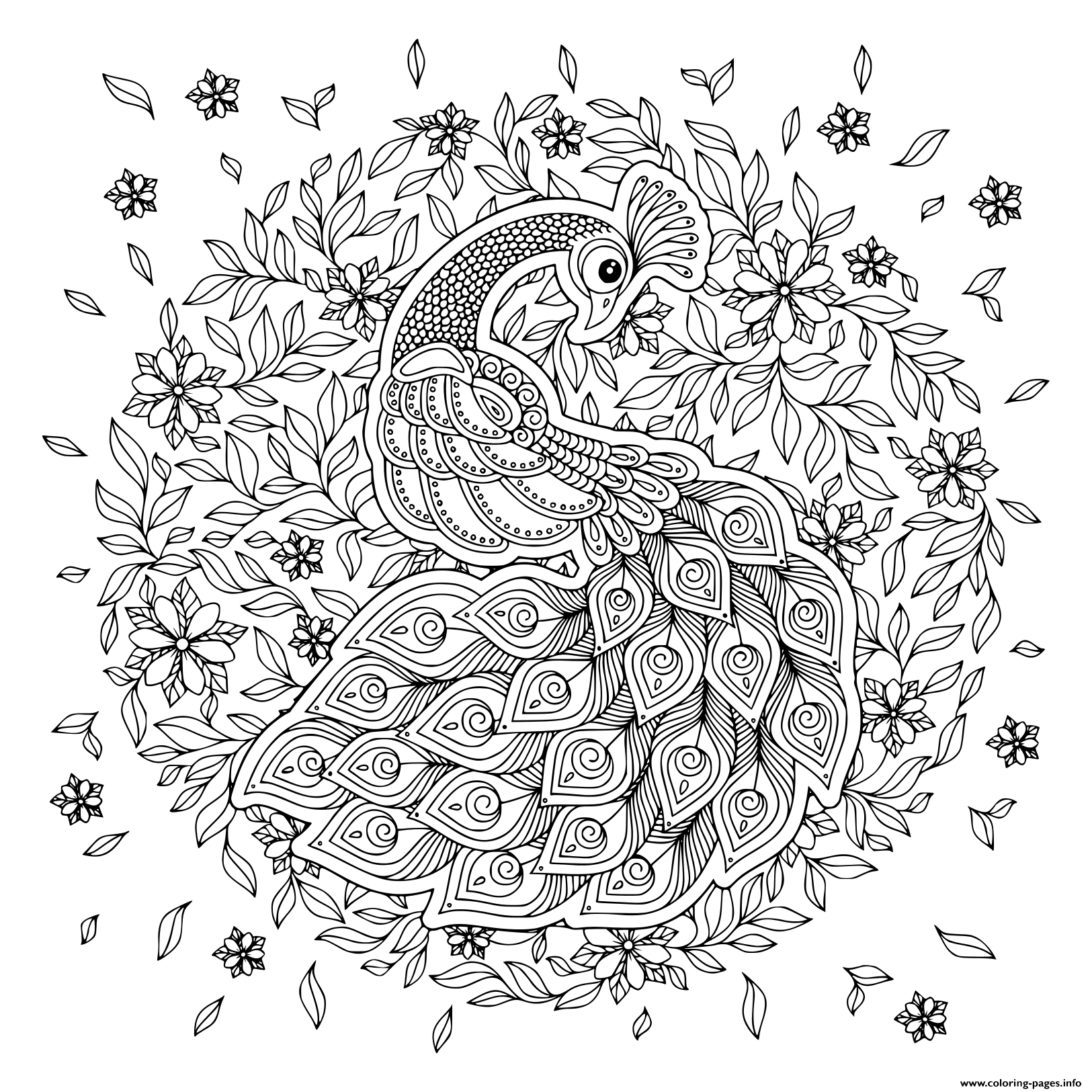 Pin On Free Adults Coloring Pages To Print