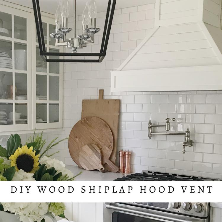 Diy Wood Shiplap Hood Vent With Images Vent Hood Shiplap Wood Diy