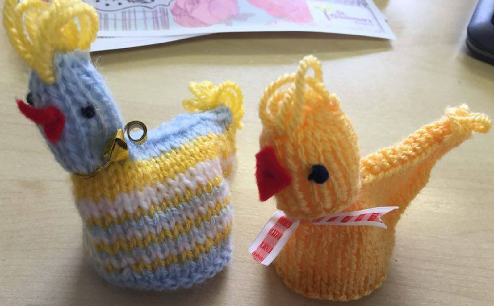 Knit this Easter chick for charity