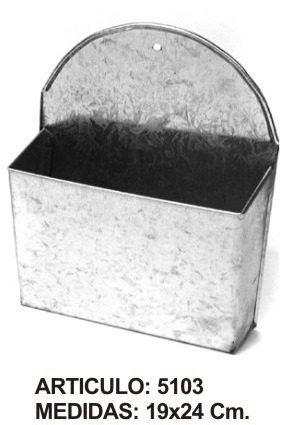 Porta Carta De Zinc - $ 136,00