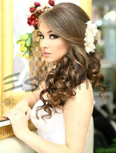 Peinados Para Novias Con El Cabello Suelto Peinados Novia Pelo Suelto Peinados Boda Pelo Largo Pelo Suelto Novia