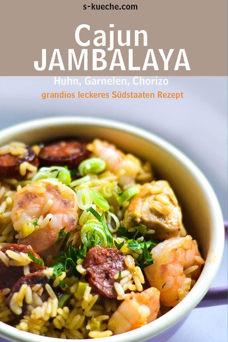 Traditionelles Jambalaya Cajun Style - Südstaaten Klassiker