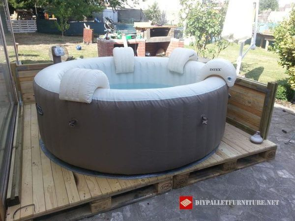 Pin By Sidney Roby On Homeward Relaxing Hot Tub Outdoor Hot Tub Garden Jacuzzi Outdoor