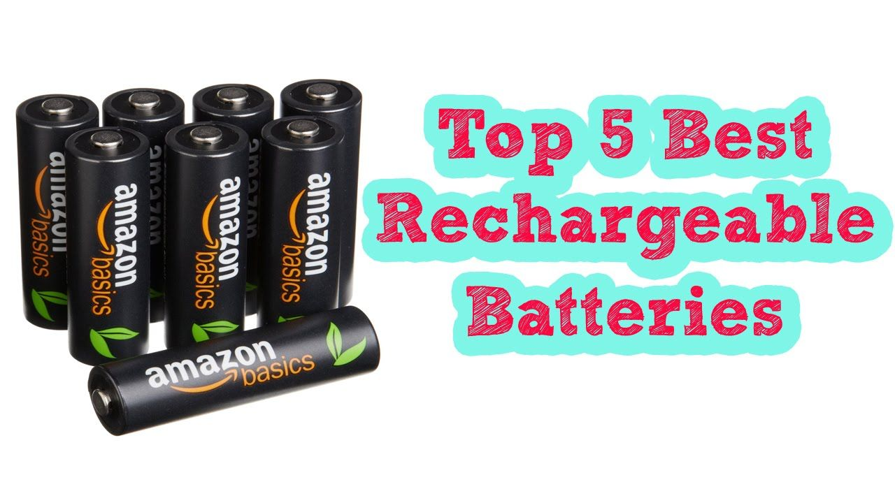 Top 5 Best Rechargeable Batteries 2016 Best Rechargeable Aa Batteries 1 Amazonbasics Aa High Capacity Re Rechargeable Batteries Battery Storage Battery Pack