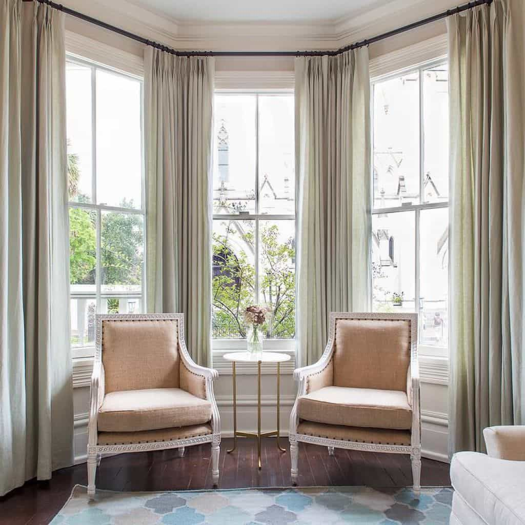 Window ideas living room   bay window ideas blending functionality with modern interior