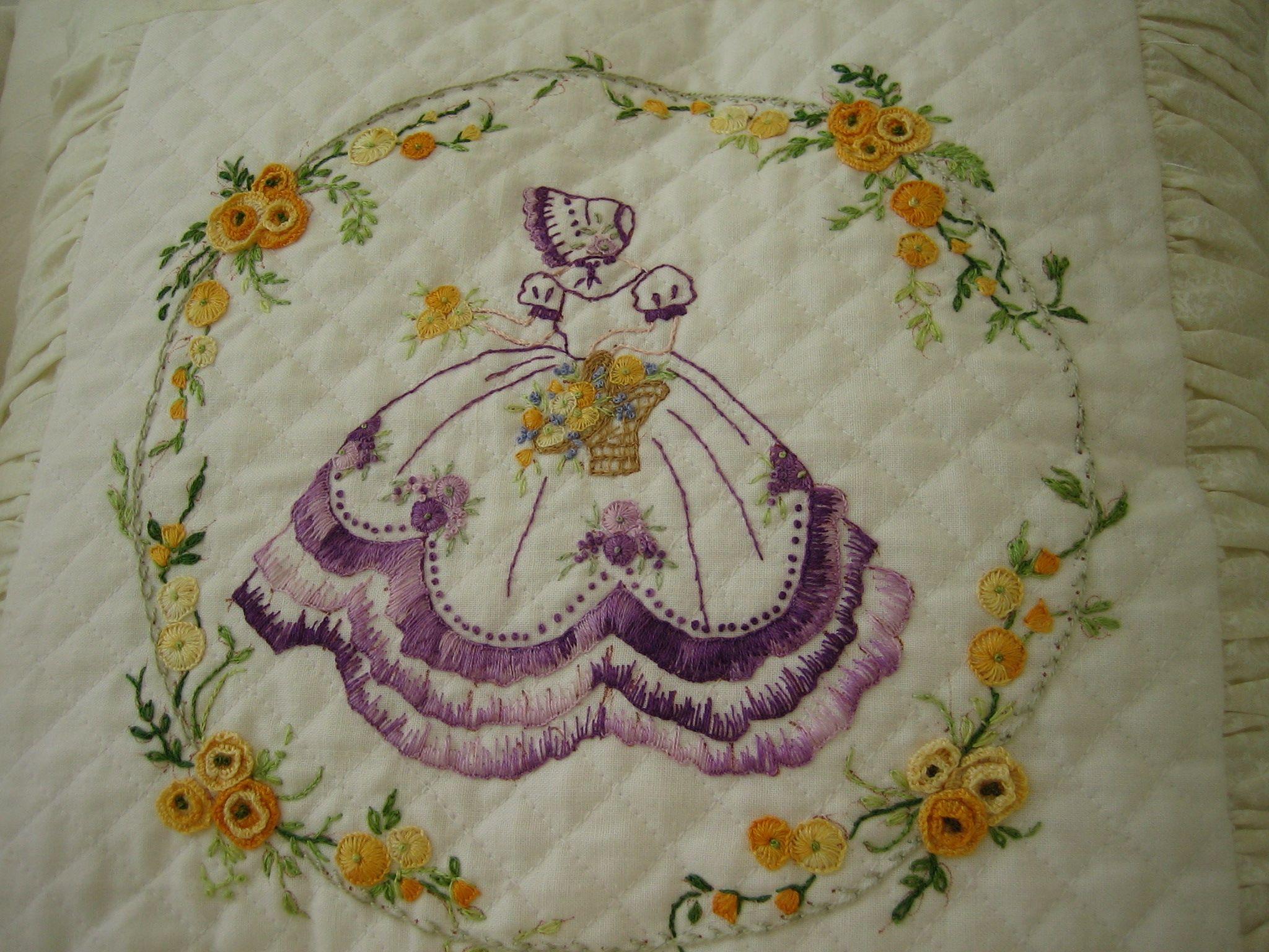 Crinoline Lady | bordado tradicional | Pinterest | Tradicional y Bordado