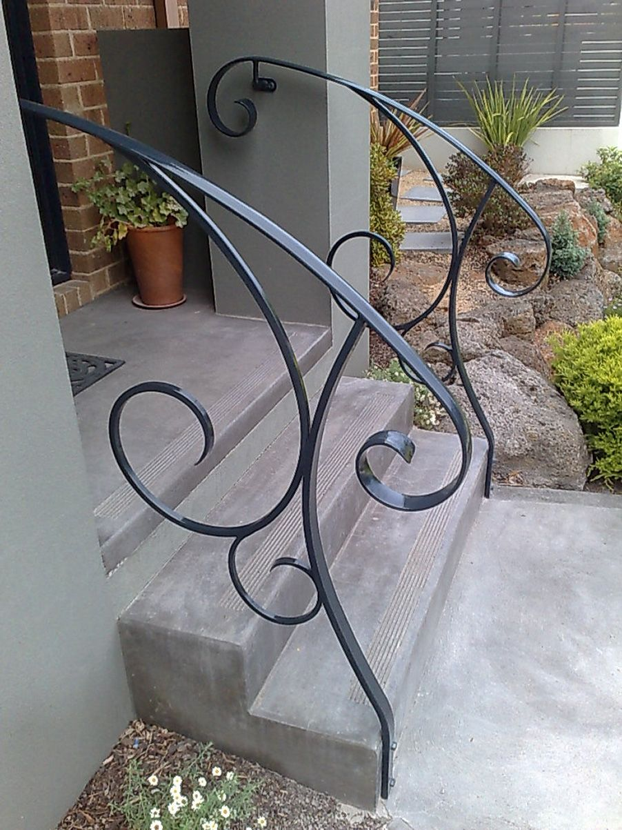 Best Outside Steps For The Home Pinterest Wrought Iron 400 x 300