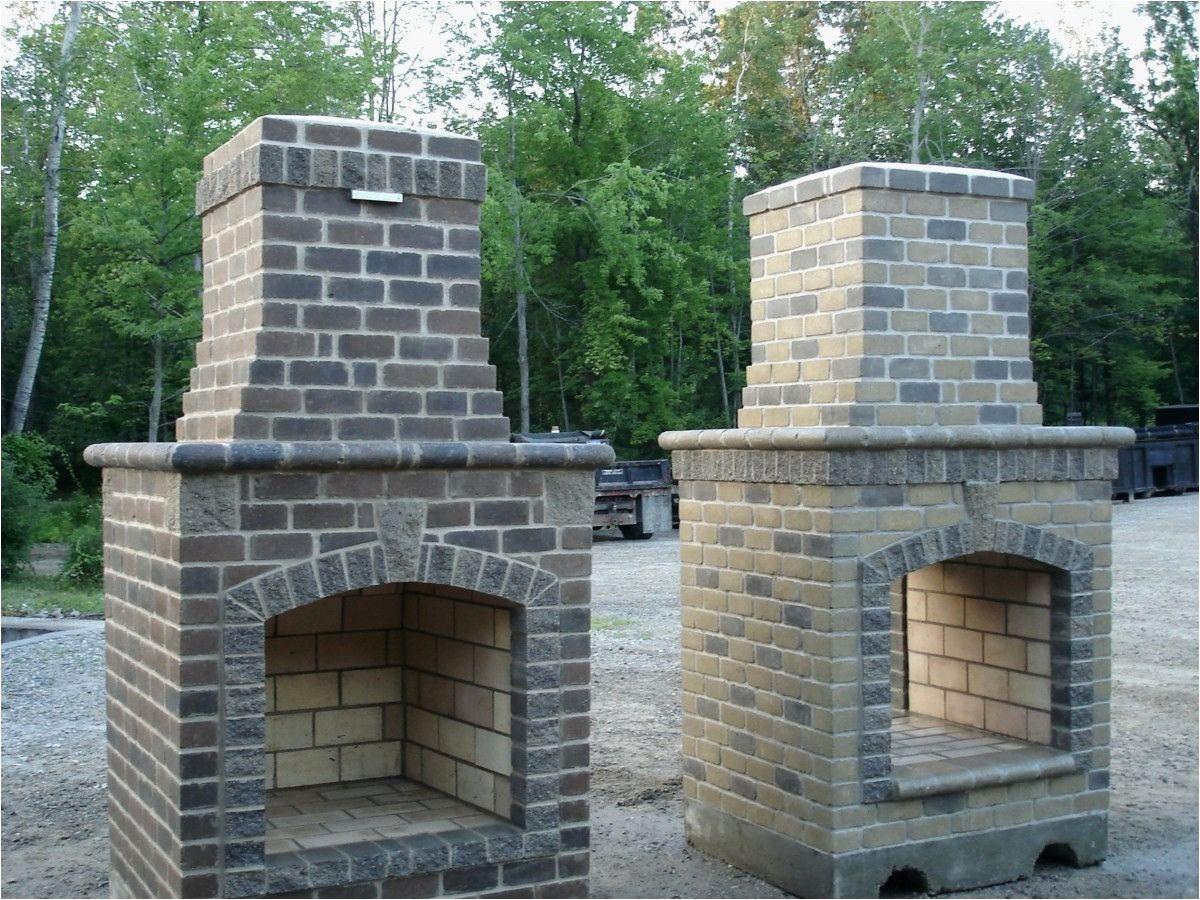 Cinder block outdoor fireplace outdoor fireplace kits