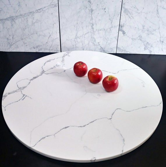 Large Marble Lazy Susan Turntable Large Lazy Susan Marble Lazy Susan Large Dining Table Centerpiece Rotating Tray 36 Inch Lazy Susan Large Dining Table Marble Lazy Susan Dining Table Centerpiece