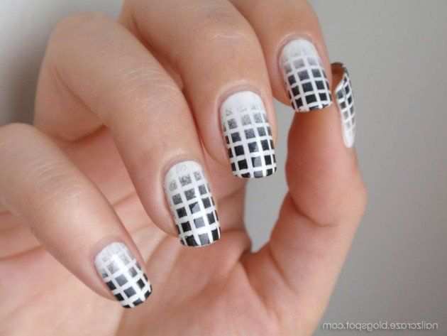 Black and white nail designs for short nails styles 2d nail black and white nail designs for short nails styles 2d prinsesfo Gallery