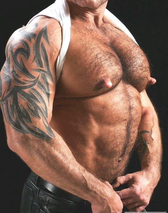 hot bear gets more than massage