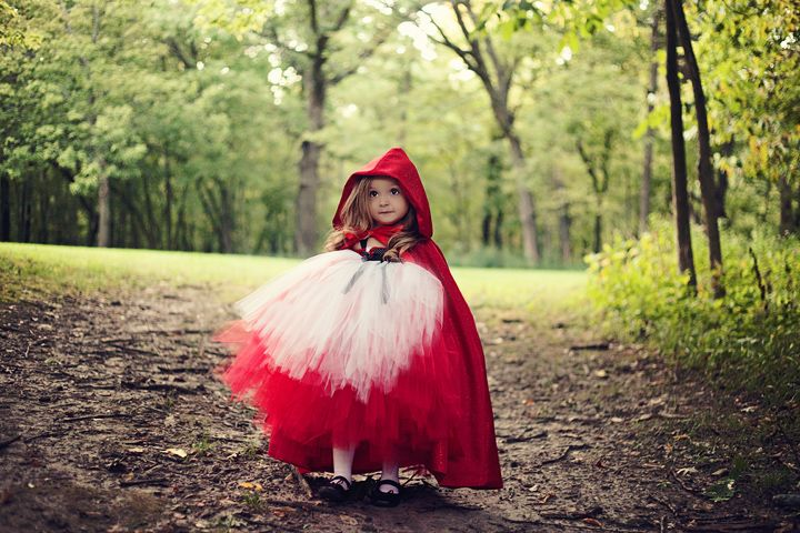 Cute for a little girls Halloween costume or just for fun