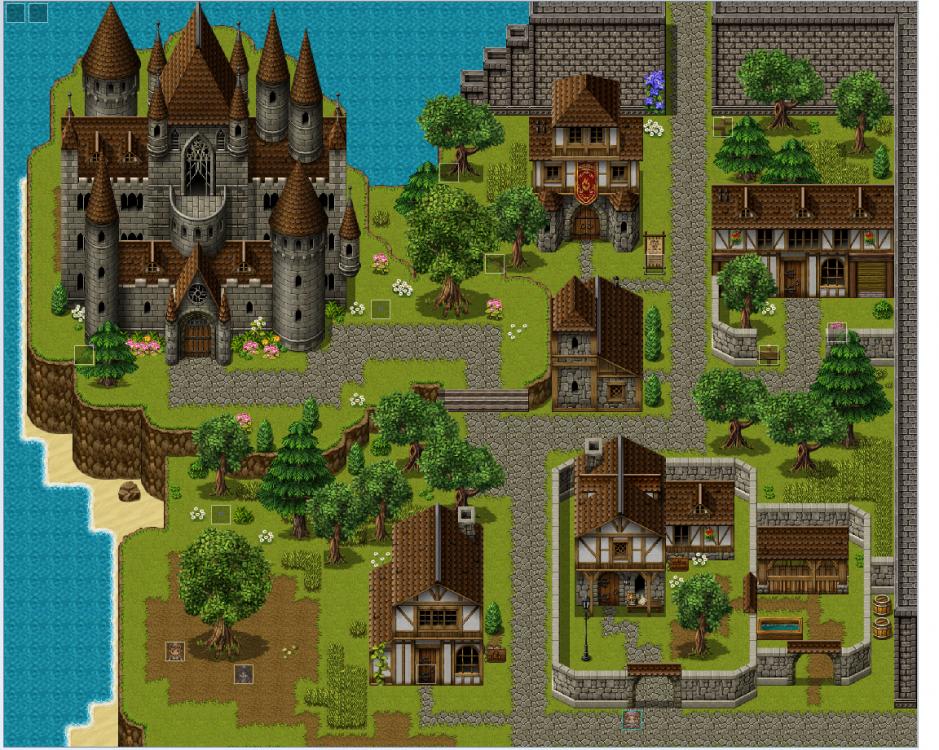 Coren City.png | Pixel art games, Pixel art, Retro art