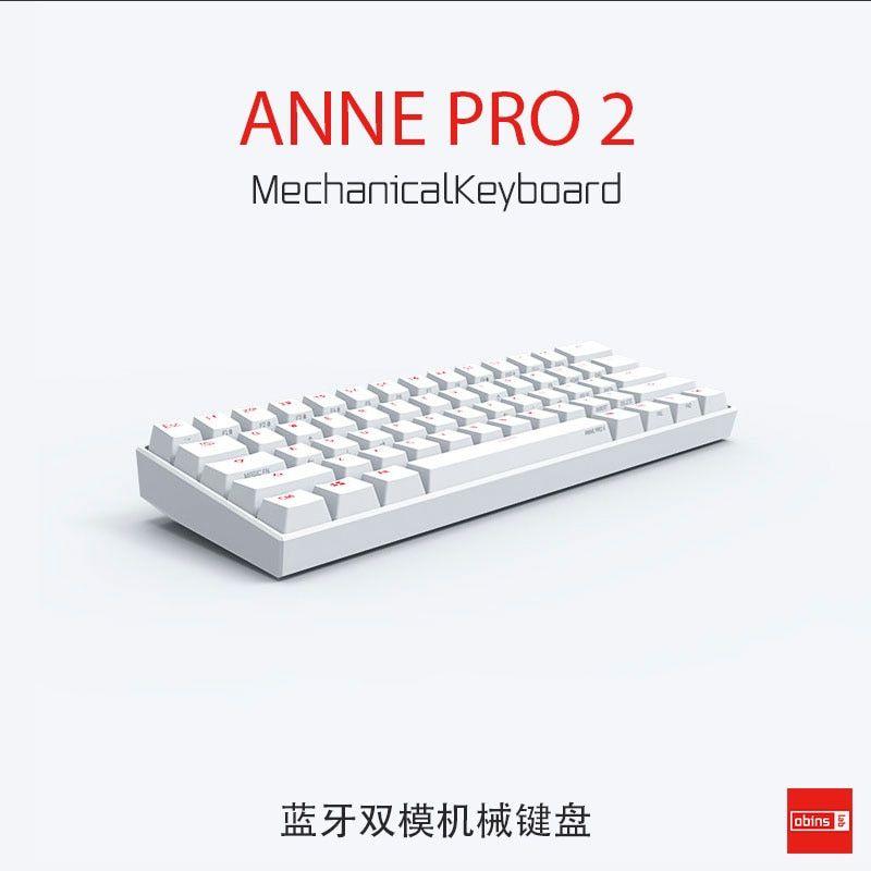 Anne Pro2 Mini Portable 60 Mechanical Keyboard Wireless Gamestein Keyboard Keyboard With Touchpad Mini Keyboard