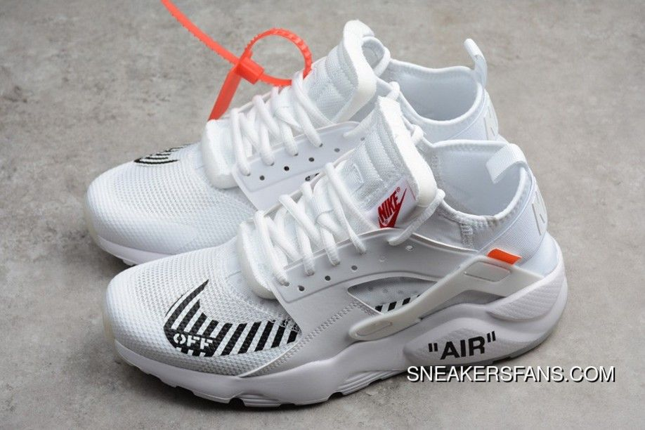 outlet store 1d79f c72c0 OFF-WHITE X Nike Air Huarache Ultra In White 3841-100 Hot ...