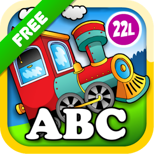 r The bestselling toddler app, Abby Animal Train First