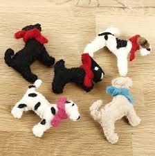 felt dog keyrings - Google Search