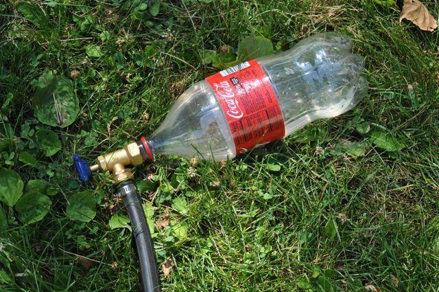 Soda Bottle Sprinkler Gardening Diy Kids Garden Hose Spigot