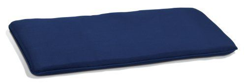 Oxford Garden 4 Foot Backless Bench Cushion Navy Blue By Oxford