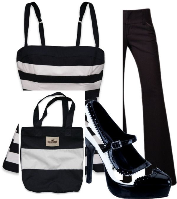 """""""Black and White all over"""" by taraandersonrdh on Polyvore"""