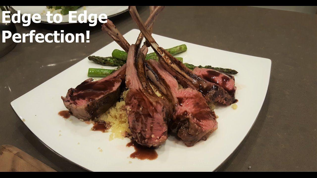 Rack Of Lamb Sous Vide Youtube Sous Vide Recipes Rack Of Lamb