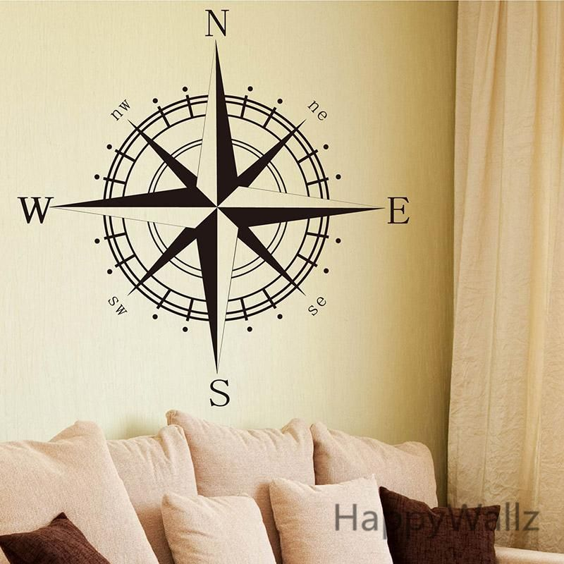 Compass Wall Decor | Classroom decor | Pinterest | Compass and ...