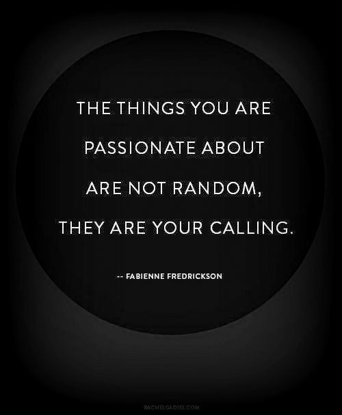 <3 - Share your passion with others!