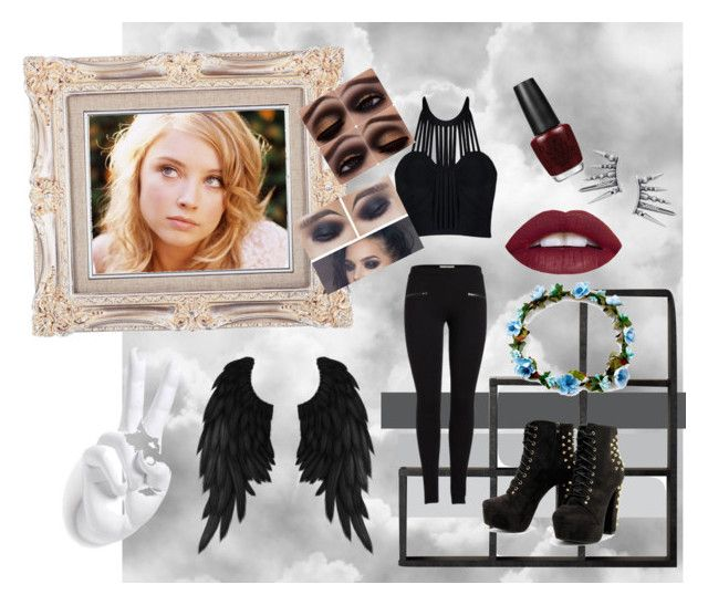 """""""Dark angel"""" by joey-ly on Polyvore featuring beauty and Posh Girl"""