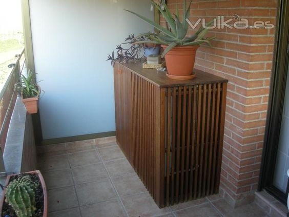 Ductless Outdoor Unit Slats Allow Air Flow Very