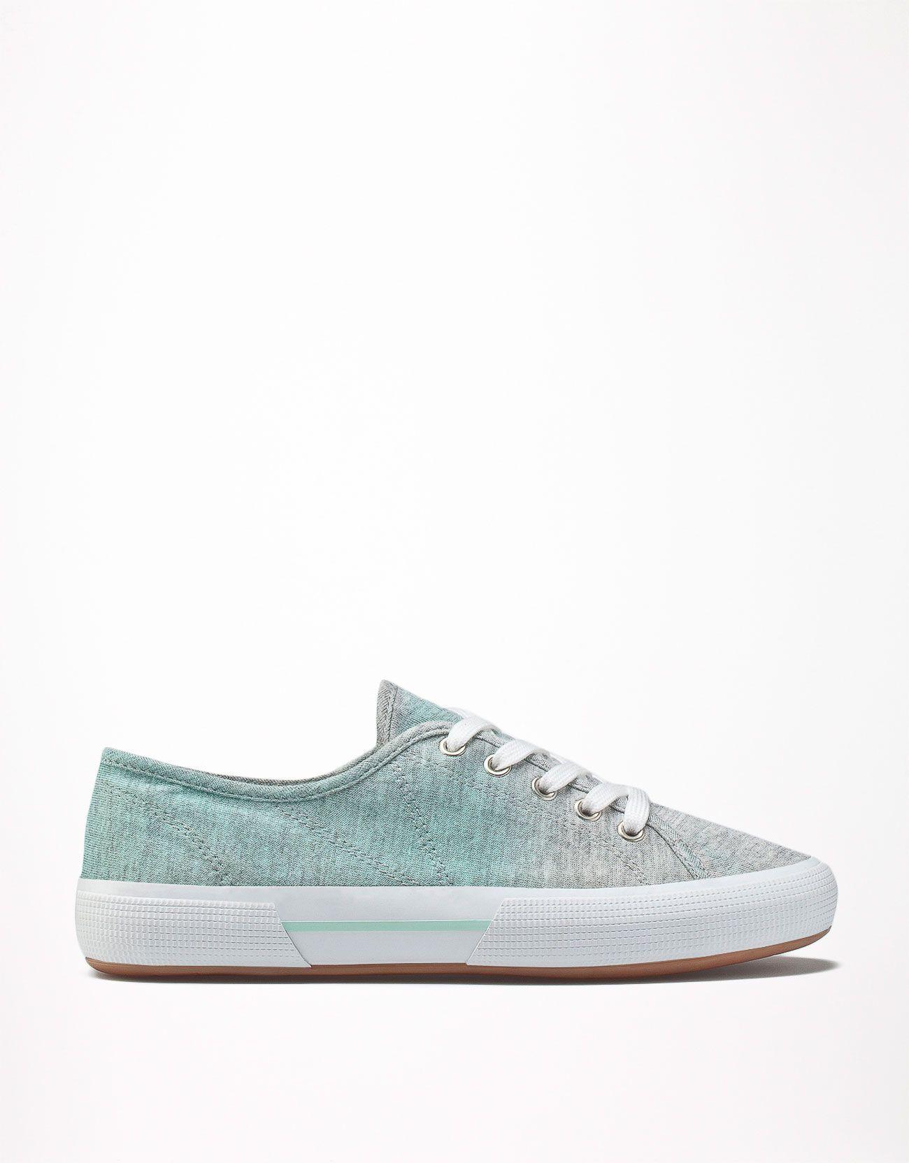 Bershka Polska Buty Sportowe Bsk Cieniowane Shoes Tretorn Sneaker Sneakers