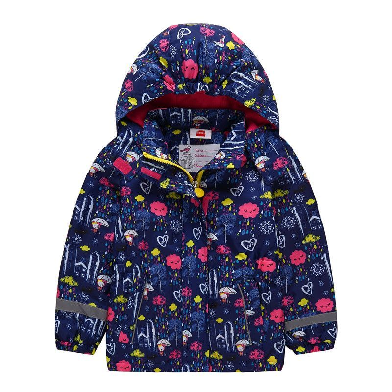 d13ff4316f05 New Waterproof Windproof Baby Girls Jackets Child Coat Children ...