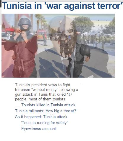 Tunisia in 'war against terror'
