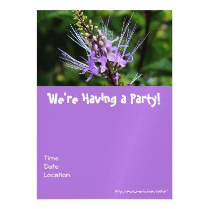 Having a Party Magnetic Card birthdayinvitation birthday