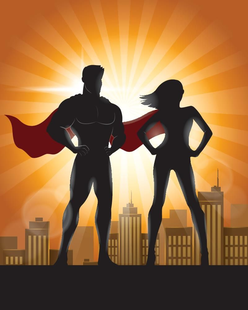 Marketing Superheroes Superhero Silhouette Superhero Background Superhero Art Projects