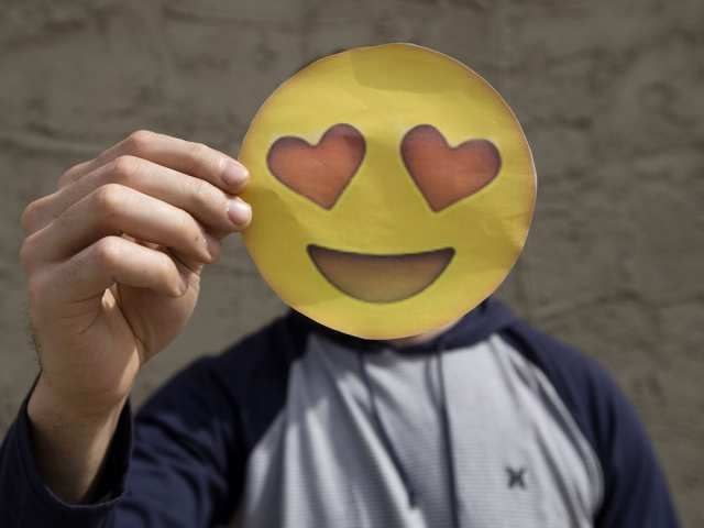 Online dating smiley faces