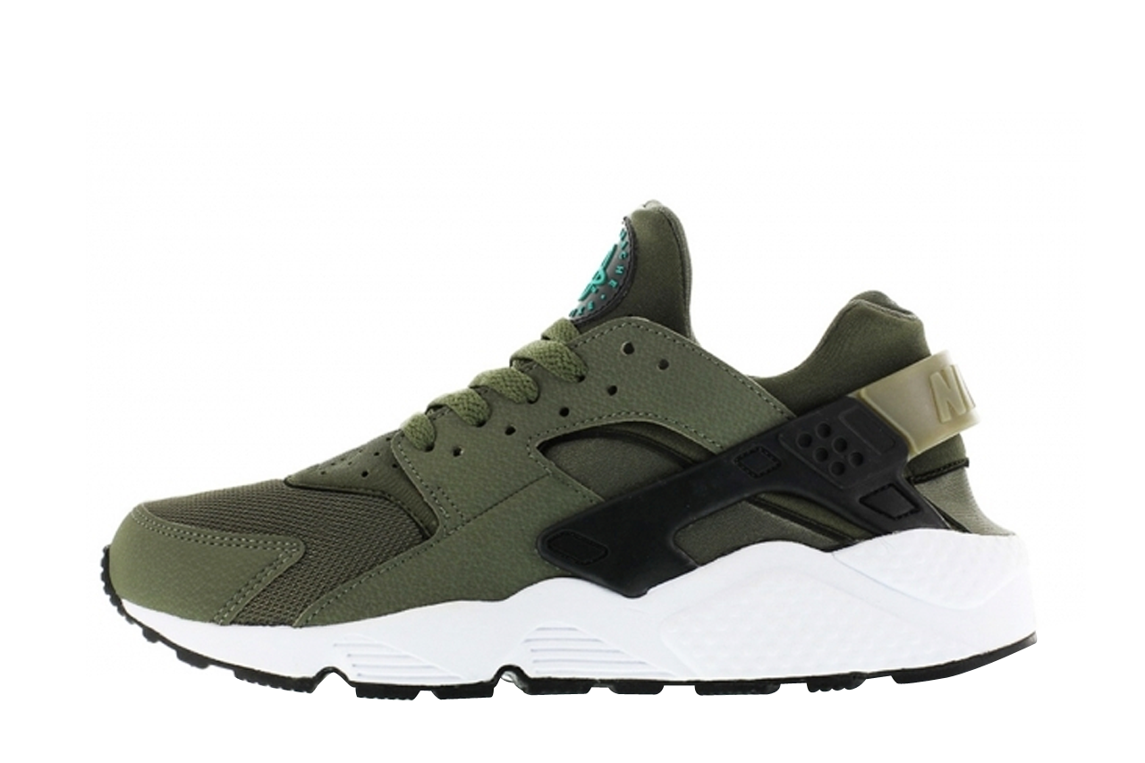 nike huarache dames iron green